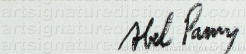 Signature by: PANN, Abel Pfeffermann