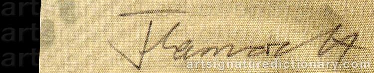Signature by Anura THAMARD