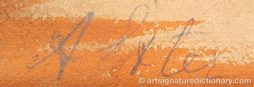 Signature by Alexandra Alexandrovna EXTER