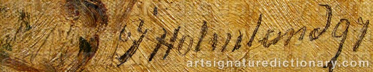Signature by Josefina HOLMLUND