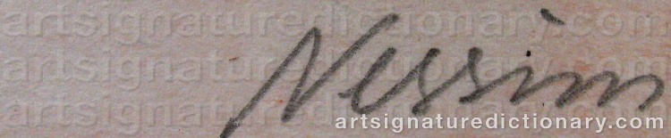 Signature by Susanne NESSIM