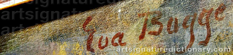 Signature by Eva BAGGE