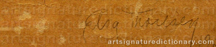 Signature by Else THORESEN