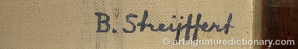 Signature by Brita STREIJFFERT