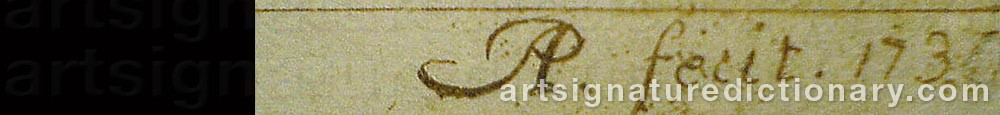 Signature by (Monogramist) AP