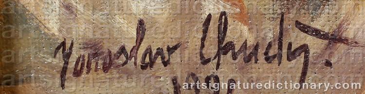 Signature by Jaroslaw CHUDY