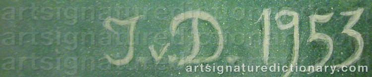 Signature by Ingrid Von DARDEL