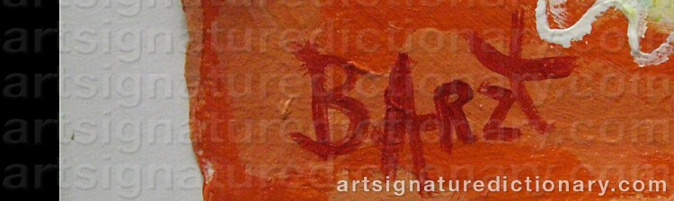 Signature by Benno ARZT