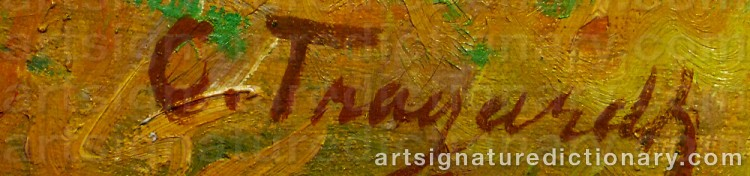Signature by Carl TRÄGÅRDH