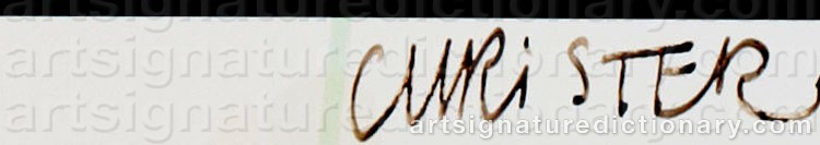 Signature by Christer STRÖMHOLM