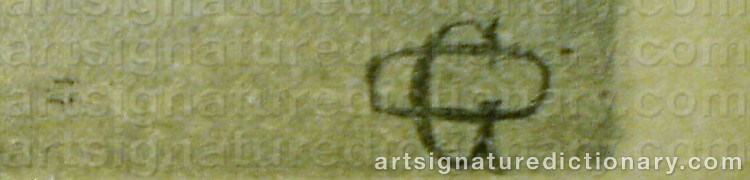 Signature by Otto GRIPENSVÄRD