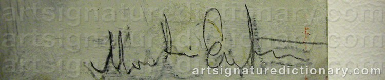Signature by Martin ENGSTRÖM