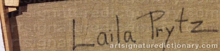 Signature by Laila PRYTZ
