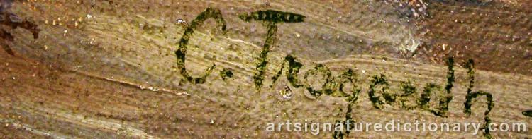 Signature by Carl TRÄGÅRDH