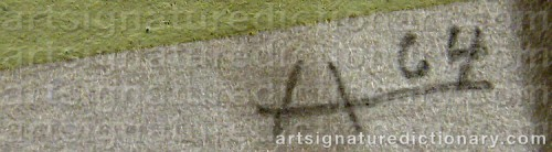 Signature by: ALBERS, Josef