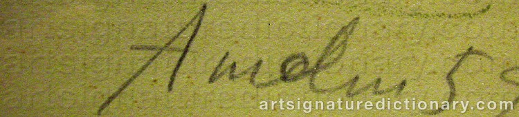Signature by Albin AMELIN