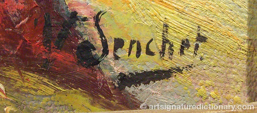 Signature by Victor SENCHET