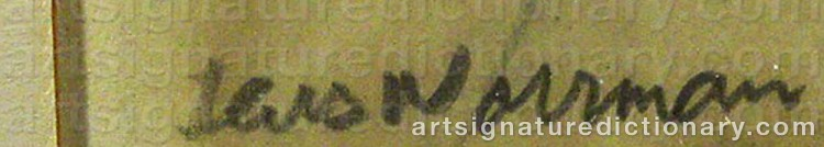 Signature by Lars NORRMAN
