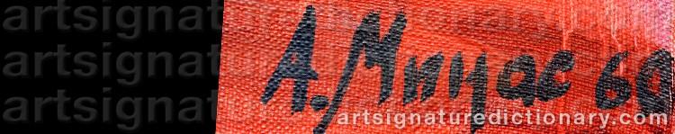 Signature by Minas AVETISIAN