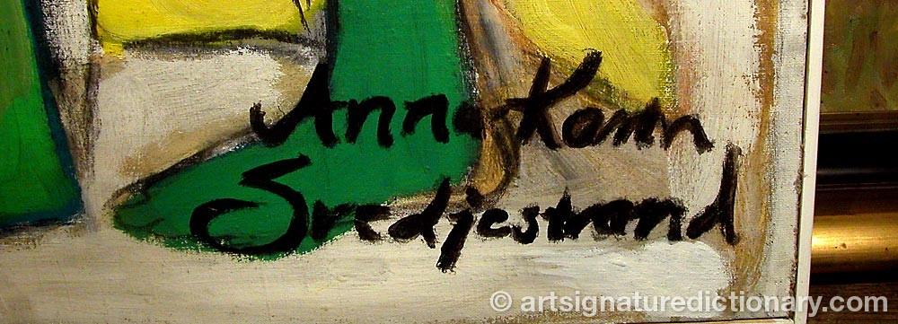 Signature by Anna Karin SVEDJESTRAND