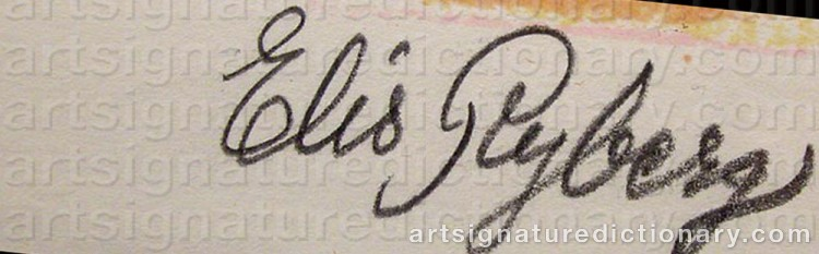 Signature by Elis RYBERG