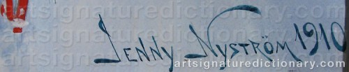 Signature by: NYSTR�M, Jenny
