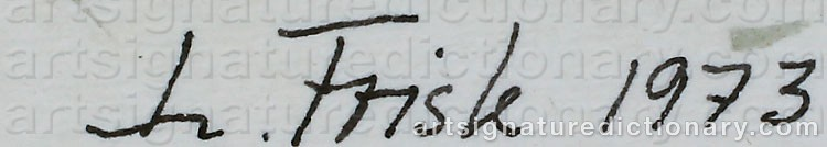 Signature by Lennart FRISK