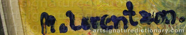 Signature by Monica LORENTZON