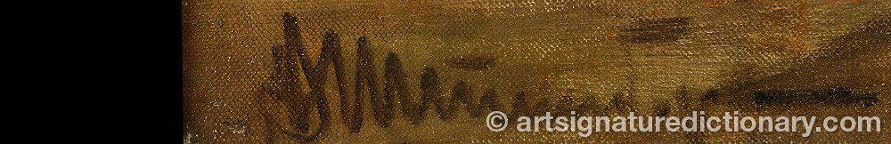 Signature by Victor Karlovich SHTEMBERG