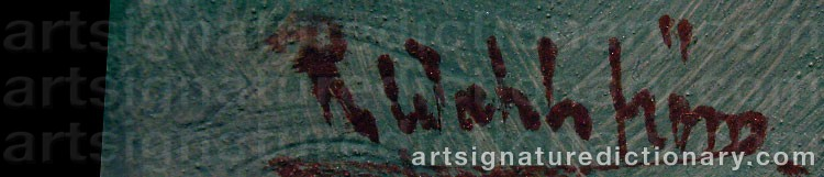 Signature by Rune WAHLSTRÖM