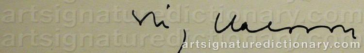 Signature by Stig 'Slas' CLAESSON