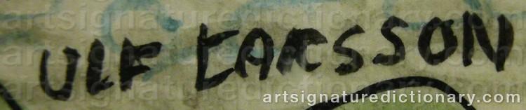 Signature by Ulf LARSSON