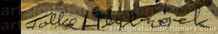 Signature by Folke HEYBROECK