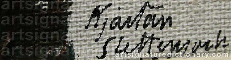 Signature by Kjartan SLETTEMARK