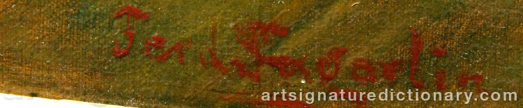 Signature by Ferdinand FAGERLIN