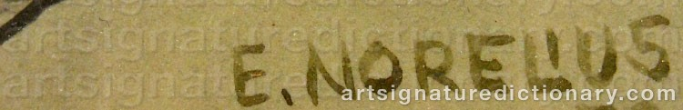 Signature by Einar NORELIUS
