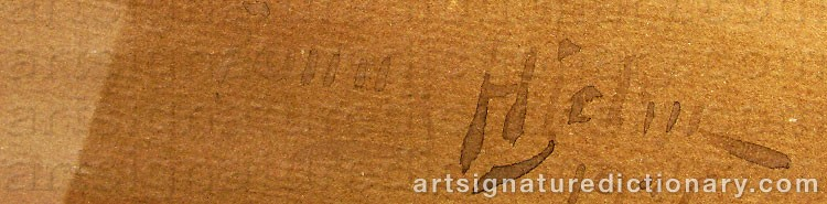 Signature by Fanny HJELM