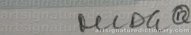 Signature by Marianne LINDBERG DE GEER