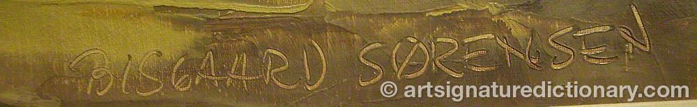 Signature by Bisgaard SÖRENSEN