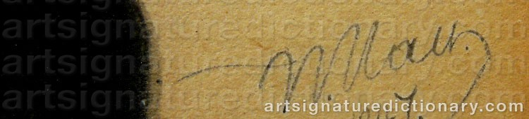 Signature by Vladimir Ivanovich HAU