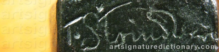 Signature by Tore STRINDBERG