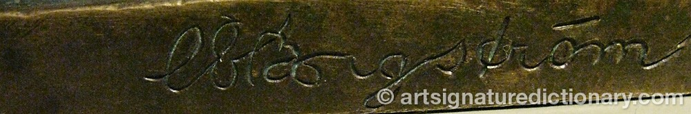 Signature by Carl-Einar BERGSTRÖM