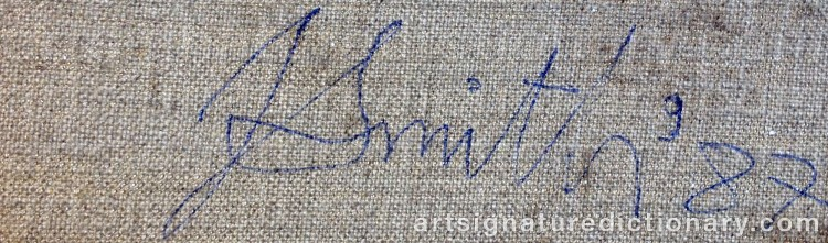 Signature by John Noel SMITH