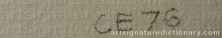 Signature by Cecilia EDEFALK