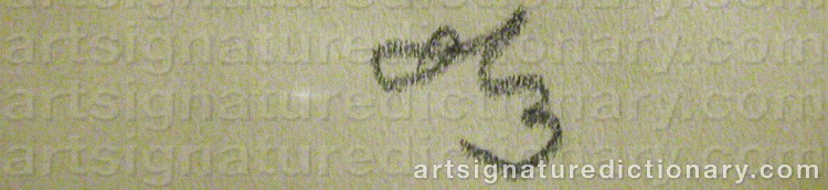 Signature by Hugo ZUHR