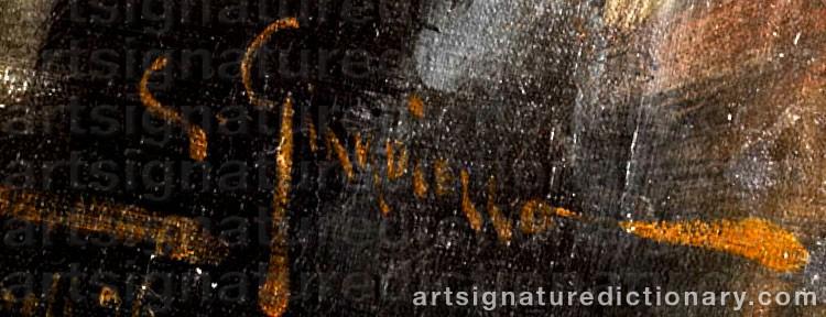 Signature by Giuseppe GIARDIELLO