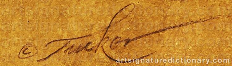 Signature by Ezra TUCKER
