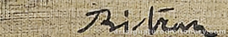 Signature by Albert BITRAN