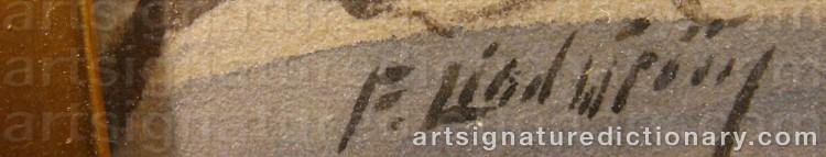 Signature by Frans LINDSTRÖM