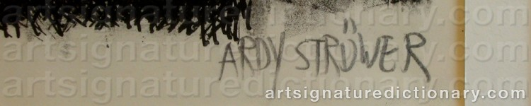 Signature by Ardy STRÜWER